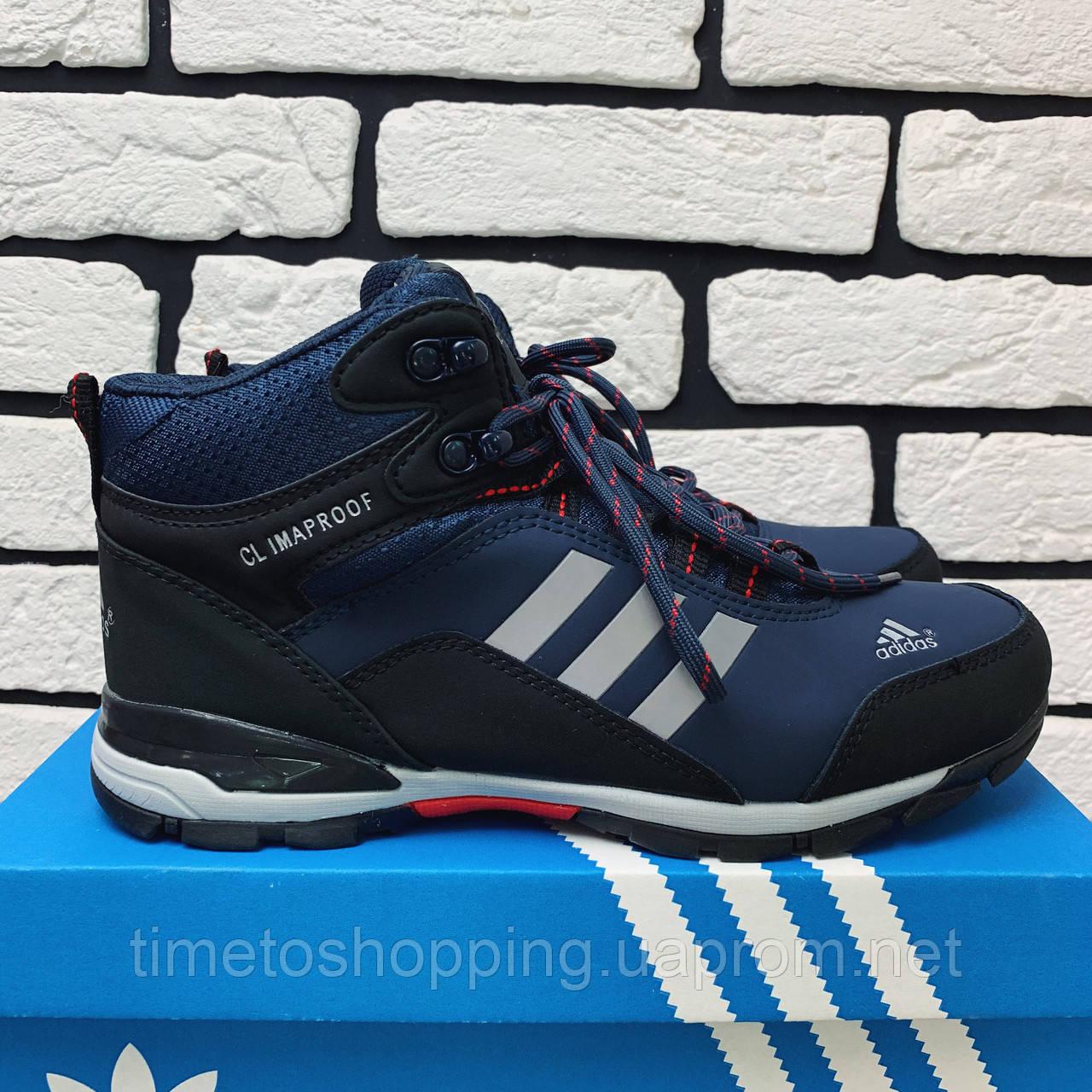 Зимові черевики (на хутрі) чоловічі Adidas Climaproof 3-003 ⏩ [ 41,44 ]