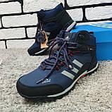 Зимові черевики (на хутрі) чоловічі Adidas Climaproof 3-003 ⏩ [ 41,44 ], фото 2