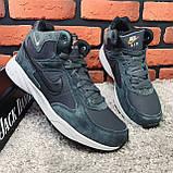 Зимові черевики (НА ХУТРІ) чоловічі Nike Air Max 1-119 ⏩РОЗМІР [ 43,46 ], фото 7