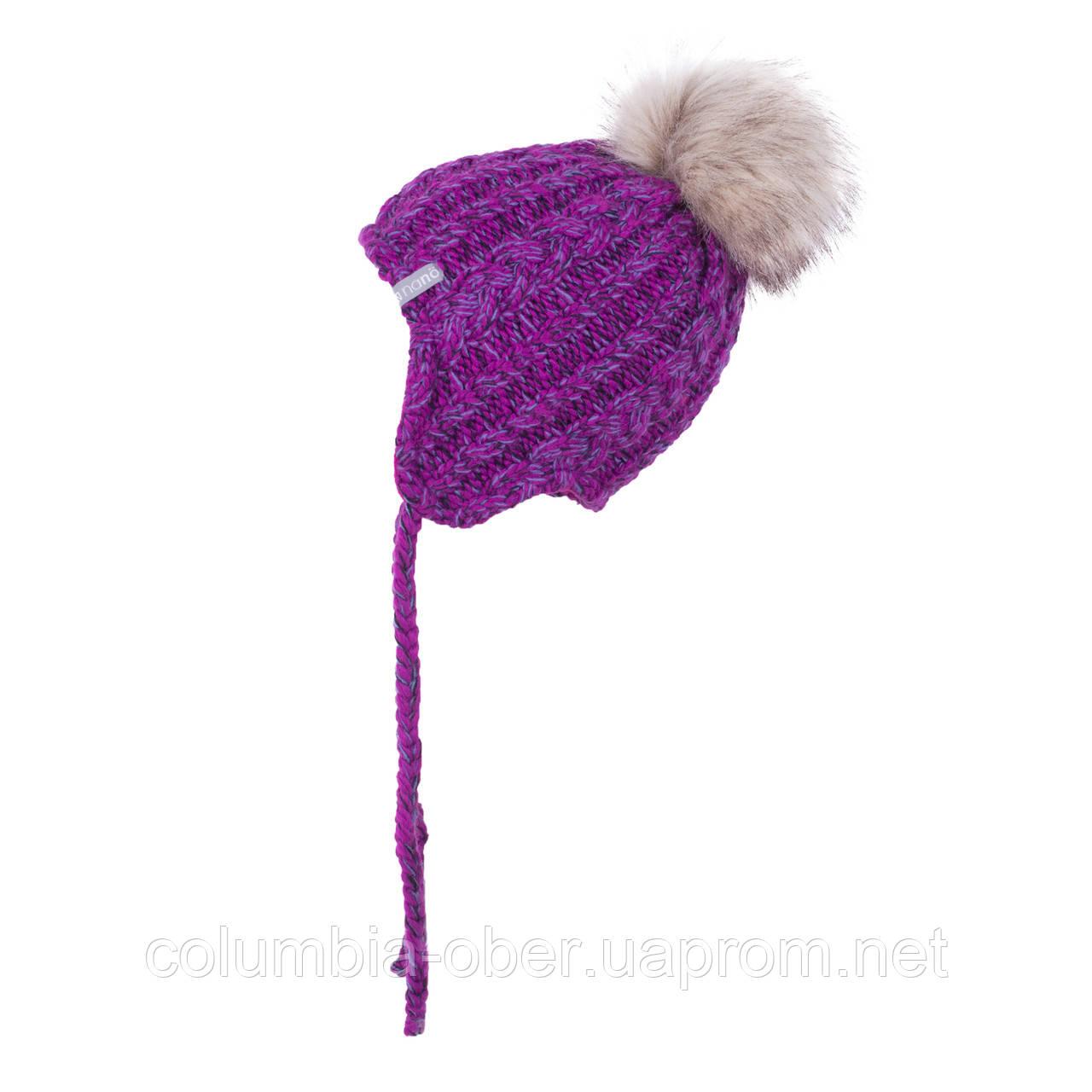 Зимняя шапка для девочки Nano F19TU270 Petunia. Размеры 6/12 мес и 12/24 мес.