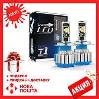 Светодиодные LED лампы T1-H11 для автомобиля | автолампы HeadLight TurboLed