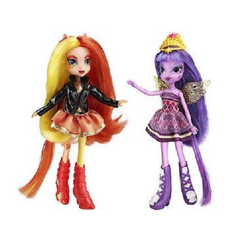 Куклы Май Литл Пони Сансет Шиммер и Твайлайт Спаркл My Little Pony Sunset Shimmer and Twilight Sparkle