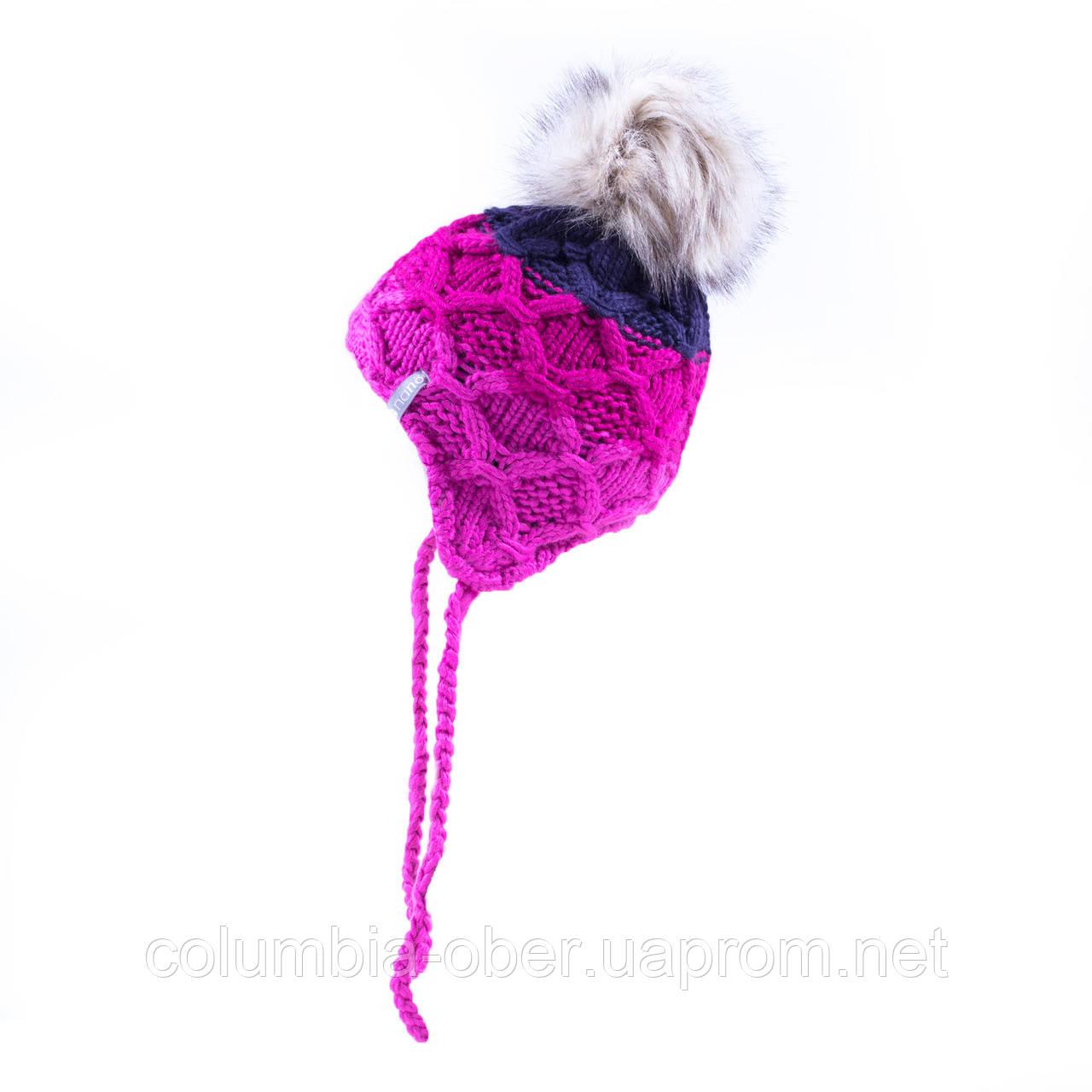 Зимняя шапка для девочки Nano F19TU276 Purple. Размеры 2/4 и 5/6Х.