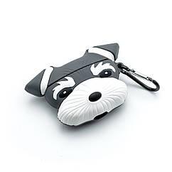 Силиконовый чехол для наушников Airpods Pro - Собака