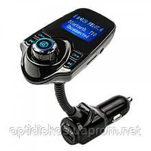 Автомобильный Bluetooth FM модулятор трансмиттер 2 х USB + AUX + MicroSD T10