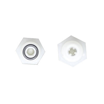 Впускной клапан EMEC 4X6 PVDF+FP+CE 07310621, фото 2