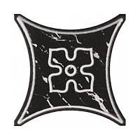 Плитка напольная АТЕМ Texas 2 BK Декор 10х10 см цена з 1 шт