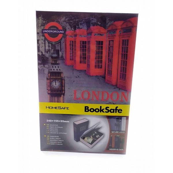 "Книга- сейф ""London"" (24,5х16х5,5 см) ( 32007A)"