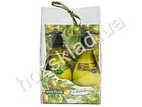 Подарочный набор Оливковый №1 (крем для рук омолаживающий 275мл+бальзам для ног освежающий 275мл)