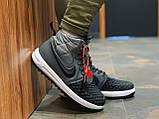 Кроссовки натуральная кожа Nike Lunar Force 1 Найк Лунар Форс (40,41,42,43,44,45) о, фото 7