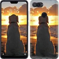 Чехол EndorPhone на Xiaomi Mi 8 Lite Закат и собака 3966u-1585-18675 (hub_GbwY39813)