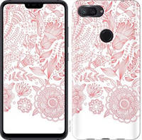 Чехол EndorPhone на Xiaomi Mi 8 Lite Узор v19 3028u-1585-18675 (hub_fDko20982)