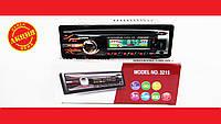 Автомагнитола Pioneer 3215 Usb+RGB подсветка+Fm+Aux+ пульт (4x50W)
