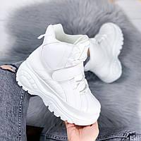 Ботинки женские Mistery белые