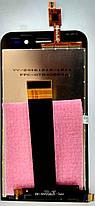 Модуль (сенсор+дисплей) Asus ZenFone Go (ZB452KG) чорний, фото 3