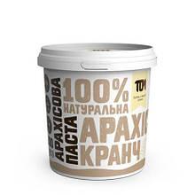 Арахісова паста 500 г, З шматочками арахісу (кранч)