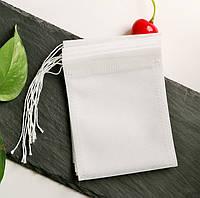 100 шт./упаковка. Фильтр пакет с затяжкой для заваривания чая