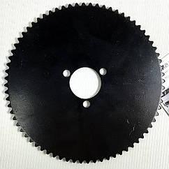 Звезда ведомая Profi 72z большая для детского электро квадроцикла на ось