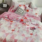 Постельное белье   Постільна білизна   Комплект постельного белья (простынь на резинке) Евро размер., фото 2