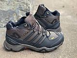 Зимові черевики (на хутрі) чоловічі Adidas TERREX 3-085⏩ [ТІЛЬКИ 42 РОЗМІР], фото 3