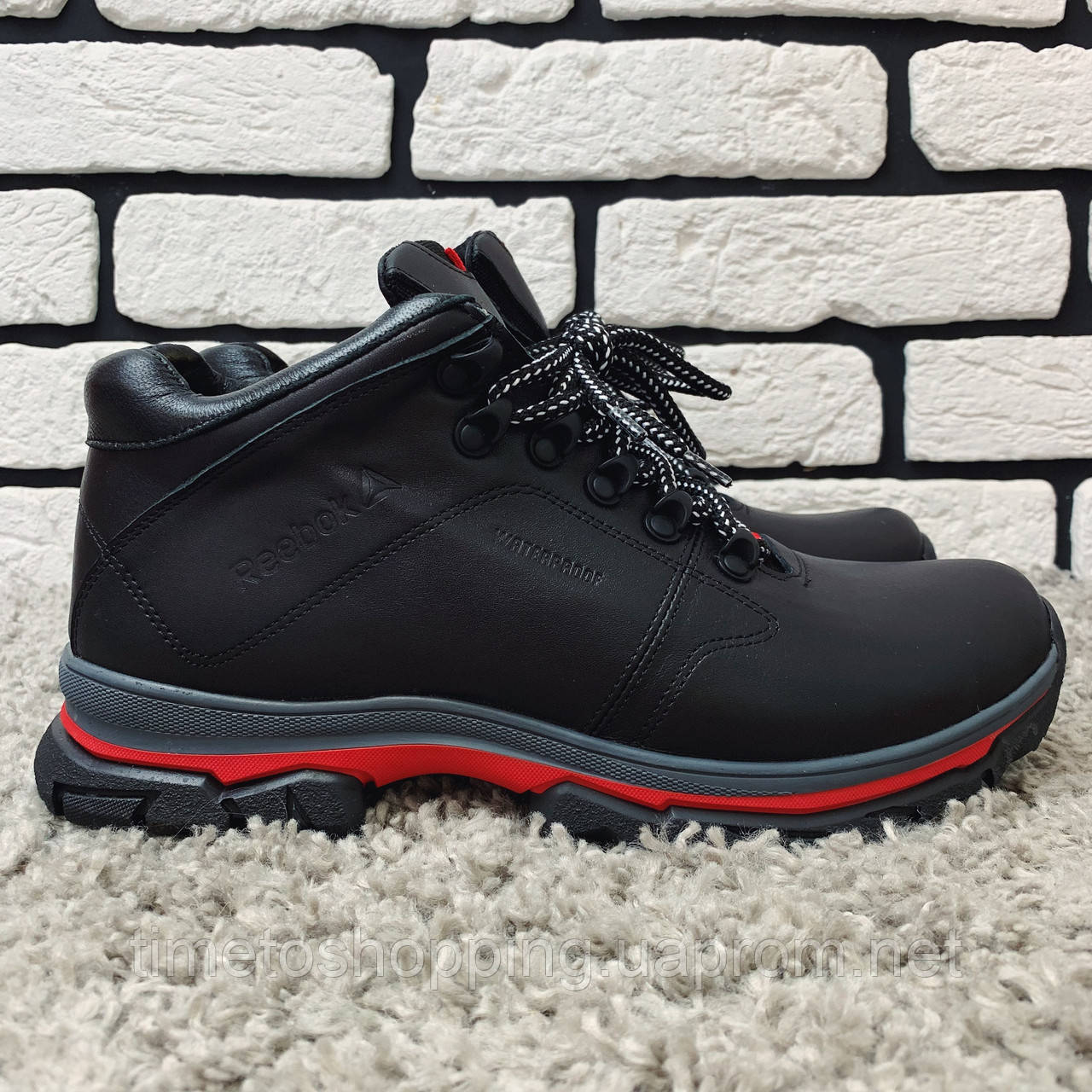 Зимние ботинки (на меху) мужские Reebok  13060 ⏩РАЗМЕР  [41,45 ]