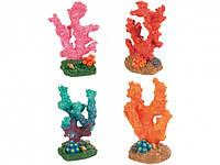 Trixie декорация в аквариум Кораллы разноцветные 7см, 12шт