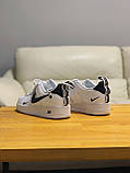Кроссовки натуральная кожа Nike Air Force Найк Аир Форс(41,42,43,44,45), фото 8