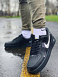 Кроссовки натуральная кожа Nike Air Force Найк Аир Форс (42,43,44,45), фото 3