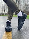 Кроссовки натуральная кожа Nike Air Force Найк Аир Форс (42,43,44,45), фото 5