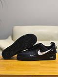 Кроссовки натуральная кожа Nike Air Force Найк Аир Форс (42,43,44,45), фото 8