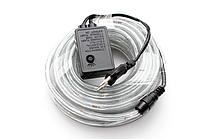 Лента светодиодная, LED  шланг RGB (Трехцветный), 18м, с контролером 220в  (7191), фото 4