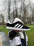 Кроссовки  натуральная замша Adidas Gazelle Адидас Газель (ТОЛЬКО 45 РАЗМЕР), фото 3