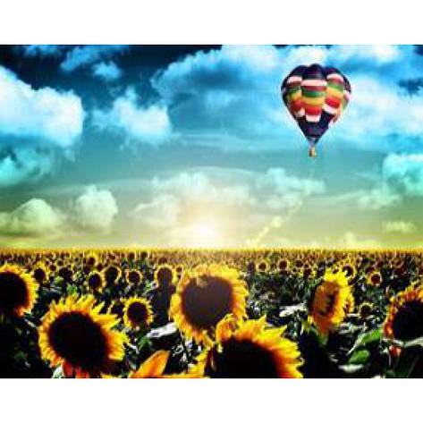 """Картина по номерам на дереве 40*50 """"Воздушный шар""""  RSB8244 в подарочной коробке, фото 2"""