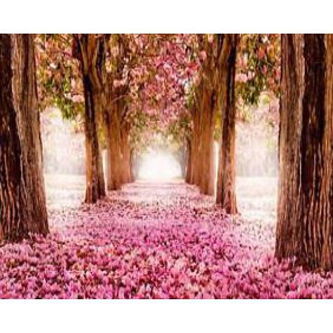 """Картина по номерам на дереве 40*50 """"Цветы""""  RSB8153 в подарочной коробке, фото 2"""