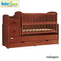 Кроватка трансформер Baby Sleep  Angela (DTP-S-B), фото 1