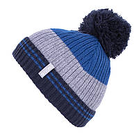 Зимняя шапка для мальчика Nano F19TU285 NauticalBlue/Gray. Размер 7/12.