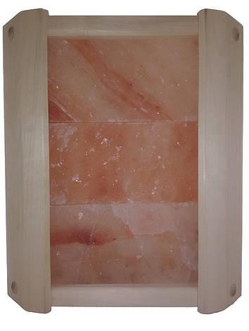 Ограждение светильника солевое угловое GREUS на 3 плитки для бани и сауны, фото 2