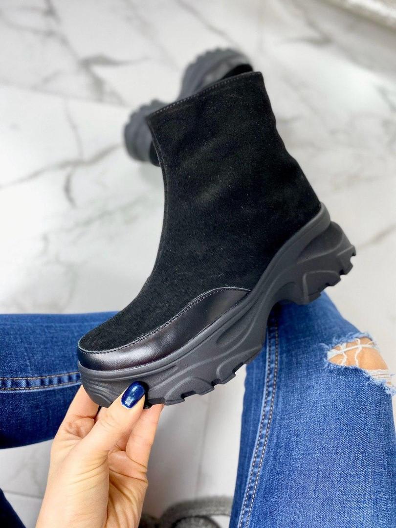Демисезонные ботинки женские натуральные
