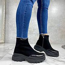 Демисезонные ботинки женские натуральные, фото 3