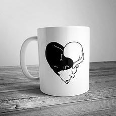 Чашки с романтической тематикой