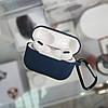 Чехол silicone с карабином Airpods Pro Midnidht Blue
