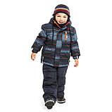 Зимняя шапка для мальчика Nano F19TU253 Marine/Orange. Размер 7/12., фото 2