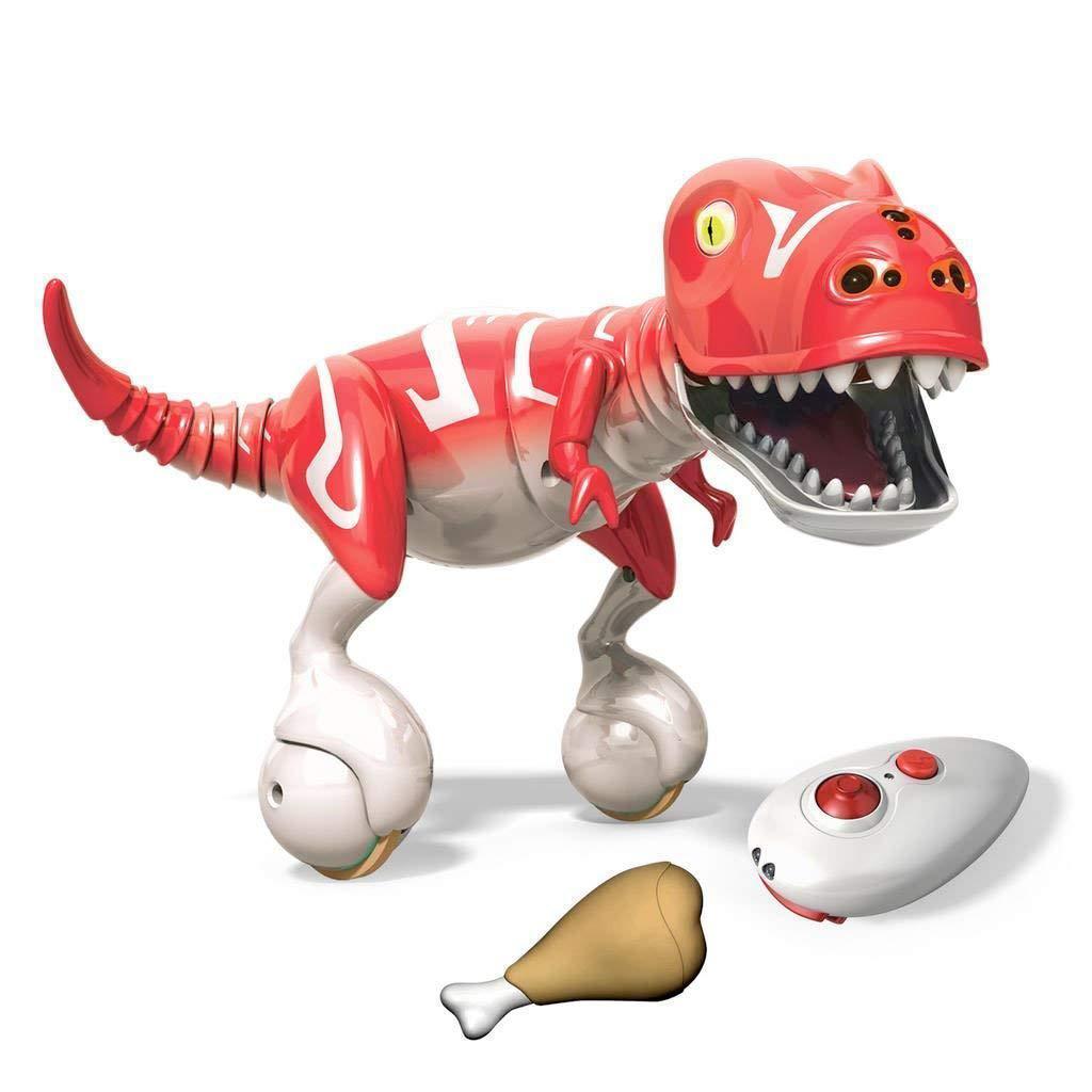 Интерактивная игрушка Зумер Дино красный Робот-динозавр от Spin Master / Spin Master Krimson Red Zoomer Dino