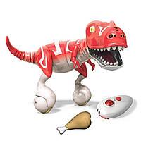 Интерактивная игрушка Зумер Дино красный Робот-динозавр от Spin Master / Spin Master Krimson Red Zoomer Dino, фото 1