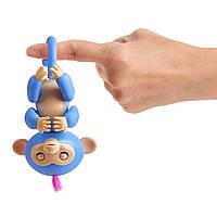 Інтерактивна мавпочка з дитячим майданчиком WowWee Fingerlings / Playset Bar Playground Liv The Baby Monkey