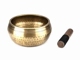 Чаша Поющая Тибетская Бита. Будды. Медный (d=15.5 см)