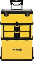 Ящик для инструментов на колесах 3 секции VOREL 78738 (Польша)