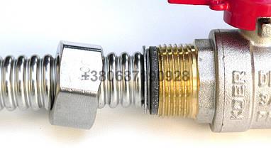 """16мм 1/2"""" труба нержавейка гофра альтернатива медной трубы нержавеющая, фото 3"""