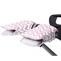 Муфта на коляску для рук GoforKid Pink LC (1330-205-993)