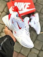 Чоловічі кросівки Nike M2K Tekno білі (репліка +ААА), фото 1